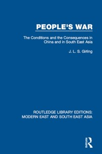 Cover People's War (RLE Modern East and South East Asia)