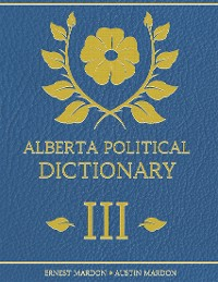 Cover Alberta Political Dictionary I I I