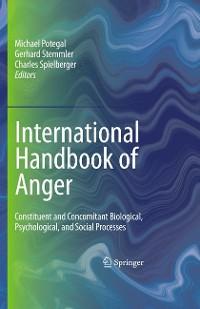 Cover International Handbook of Anger