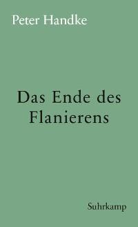 Cover Das Ende des Flanierens