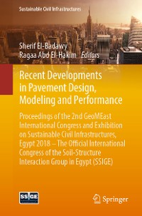 Cover Recent Developments in Pavement Design, Modeling and Performance
