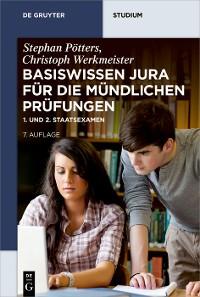 Cover Basiswissen Jura für die mündlichen Prüfungen