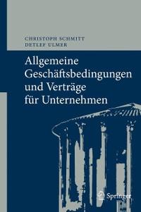 Cover Allgemeine Geschäftsbedingungen und Verträge für Unternehmen