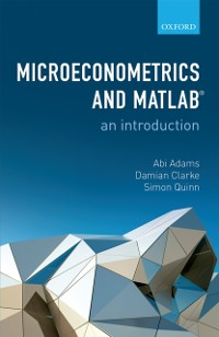 Cover Microeconometrics and MATLAB: An Introduction