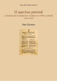 Cover El quechua pastoral