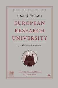 Cover The European Research University