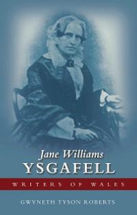 Cover Jane Williams (Ysgafell)