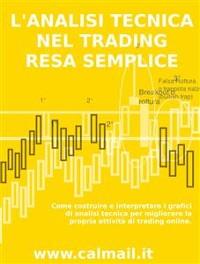 Cover L'analisi tecnica nel trading resa semplice – come costruire e interpretare i grafici di analisi tecnica per migliorare la propria attività di trading online.