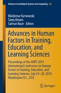 Cover Advances in Human Factors in Training, Education, and Learning Sciences