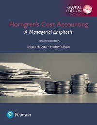 Cover Horngren's Cost Accounting: A Managerial Emphasis, Global Edition