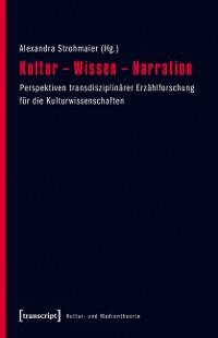 Cover Kultur - Wissen - Narration