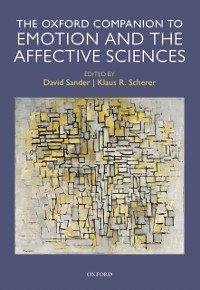 Cover Oxford Companion to Emotion and the Affective Sciences