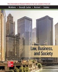 Cover ISE eBook Online Access for Law, Business, and Society