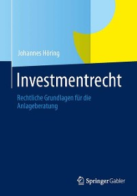 Cover Investmentrecht