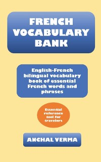 Cover French Vocabulary Bank