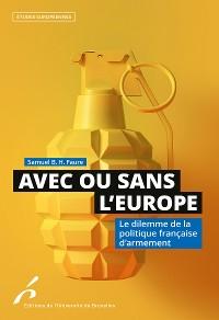 Cover Avec ou sans l'Europe