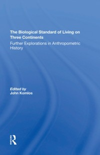 Cover Biological Standard Of Living On Three Continents