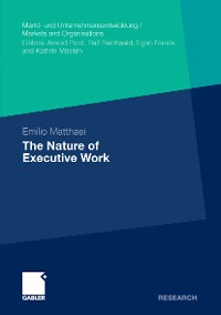Cover The Nature of Executive Work
