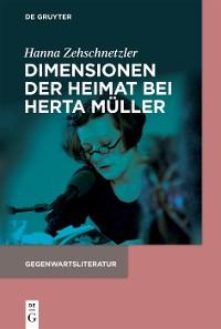 Cover Dimensionen der Heimat bei Herta Müller