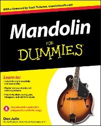 Cover Mandolin For Dummies