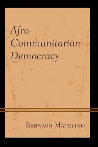Cover Afro-Communitarian Democracy