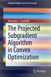Cover The Projected Subgradient Algorithm in Convex Optimization