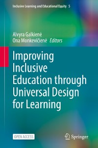 Cover Improving Inclusive Education through Universal Design for Learning