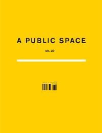 Cover A Public Space No. 29