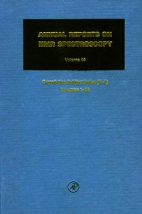 Cover Annual Reports on NMR Spectroscopy