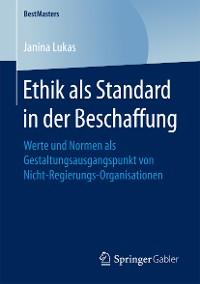 Cover Ethik als Standard in der Beschaffung
