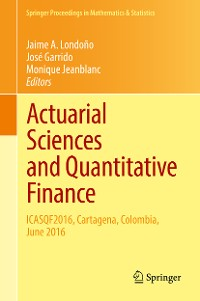 Cover Actuarial Sciences and Quantitative Finance