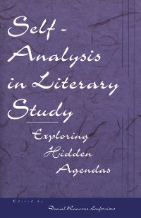 Cover Self-Analysis in Literary Study