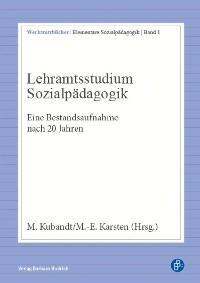 Cover Lehramtsstudium Sozialpädagogik