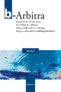 Cover b-Arbitra 2016/1
