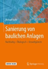 Cover Sanierung von baulichen Anlagen