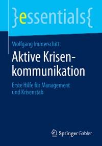 Cover Aktive Krisenkommunikation