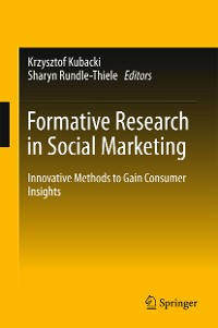 Cover Formative Research in Social Marketing
