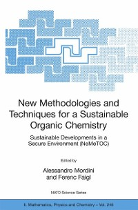 Cover New Methodologies and Techniques for a Sustainable Organic Chemistry