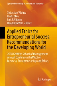 Cover Applied Ethics for Entrepreneurial Success: Recommendations for the Developing World