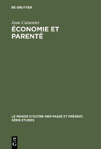Cover Économie et parenté