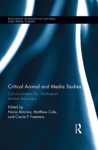 Cover Critical Animal and Media Studies