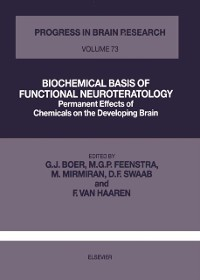 Cover Biochemical Basis of Functional Neuroteratology