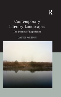 Cover Contemporary Literary Landscapes