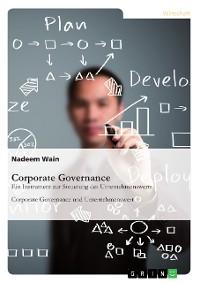 Cover Corporate Governance. Ein Instrument zur Steuerung des Unternehmenswerts