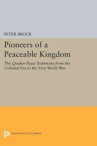 Cover Pioneers of a Peaceable Kingdom