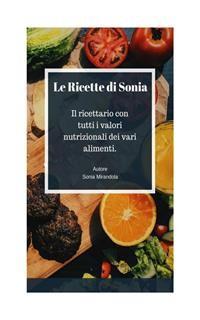 Cover Le ricette di Sonia