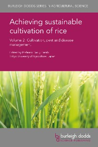 Cover Achieving sustainable cultivation of rice Volume 2