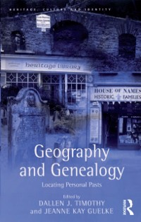 Cover Geography and Genealogy