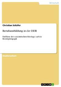 Cover Berufsausbildung in der DDR