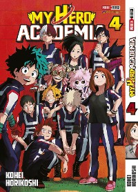 Cover My Hero Academy 4